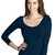 Seamless 3/4 Sleeve Basic Top — SIMPLY CHIC