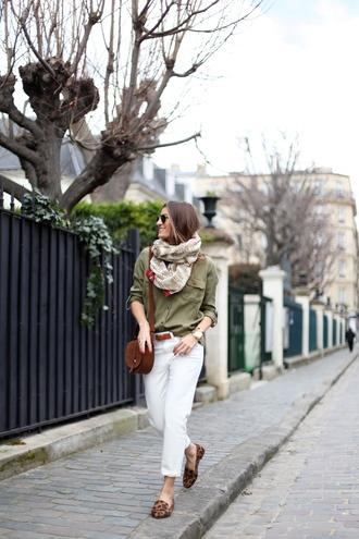 b a r t a b a c blogger shirt jeans shoes belt bag scarf