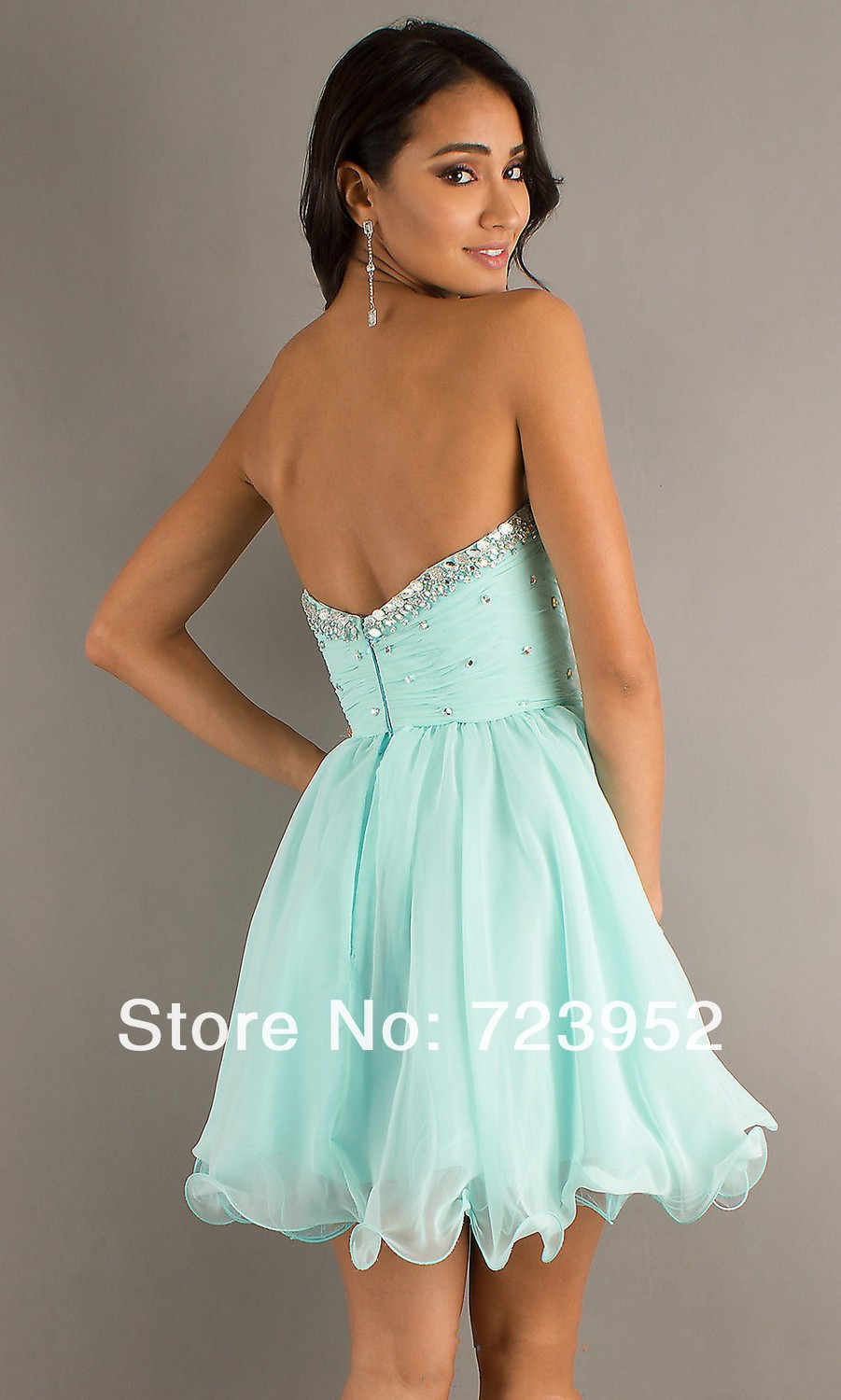 Short Baby Blue Prom Dresses | Cocktail Dresses 2016