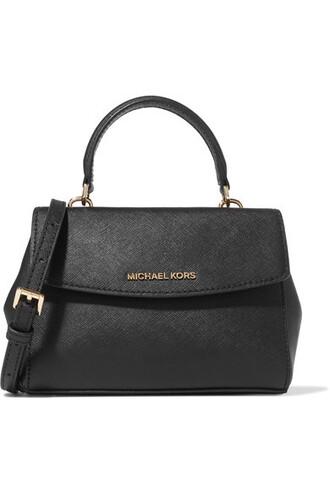mini bag shoulder bag leather black