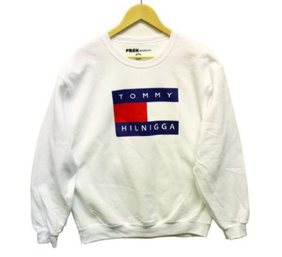 sweater jumper tommy hilfiger crewneck oldschool