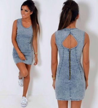 dress denim short