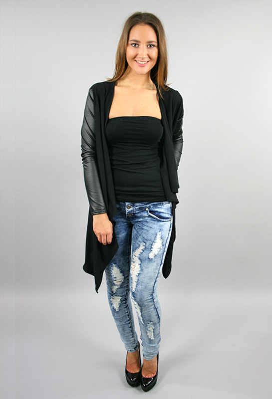 Distressed Lightwash Macy Jeans