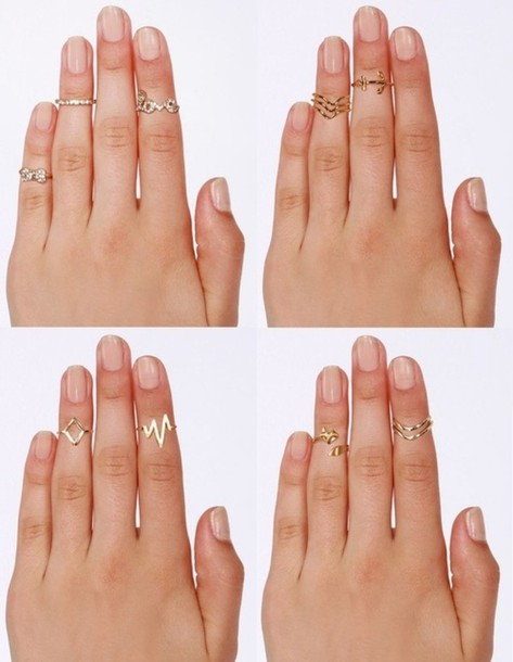 jewels above the knuckle ring
