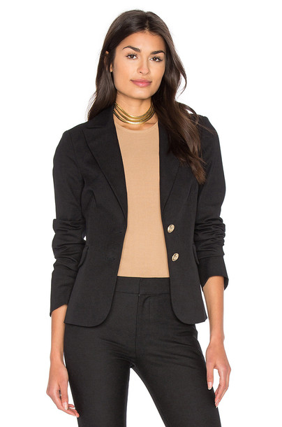 DEREK LAM 10 CROSBY blazer black jacket