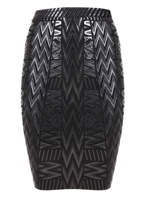Black Pencil High Waist Bandage Skirts ABH360 $79