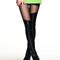 Mesh panel black - leggings | lookbook store