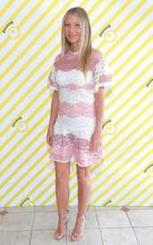 dress,lace dress,lace,gwyneth paltrow,sandals,sandal heels,shoes