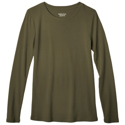 Women's Ultimate Long Sleeve Crew Tee : Target