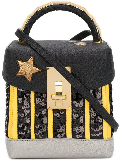 The Volon mini women bag mini bag leather black