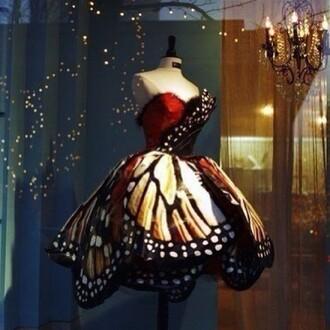 dress butterfly butterfly dress luxery