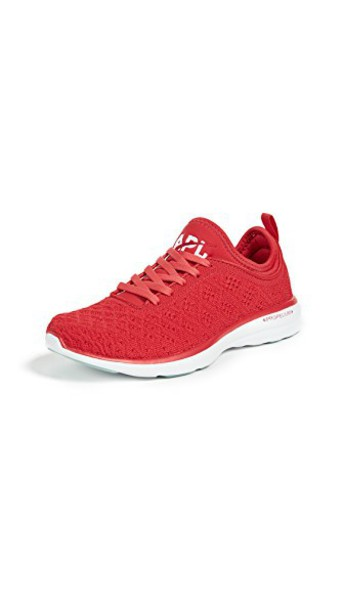 APL: Athletic Propulsion Labs sneakers white red shoes