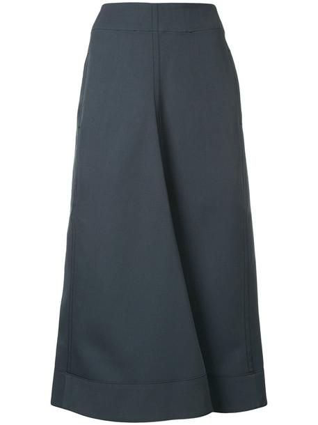 Lemaire skirt women wool grey