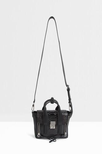 satchel mini women black bag