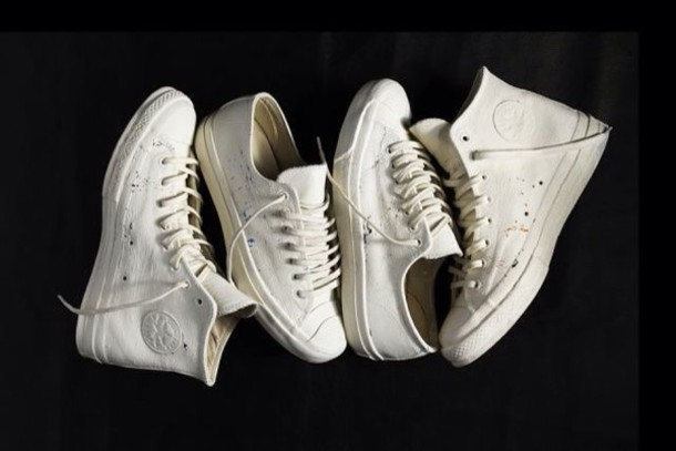 shoes white sneakers high top converse converse white converse converse all white everything