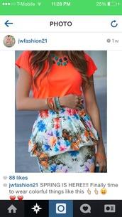 skirt,bubble skirt,knee length skirt