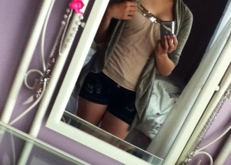 blouse ripped torn sparkle body old navy cotton denim beige sequins cardigan shorts jacket asymmetrical tank top