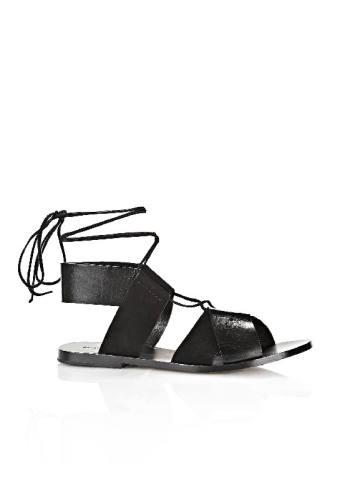 Alexander wang Marlene Sandal BLACK Sandals Women:alexander wang heels