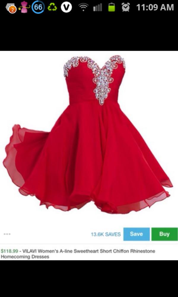 prom dress red dress