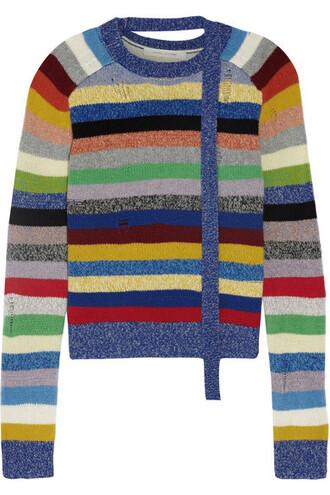 sweater blue