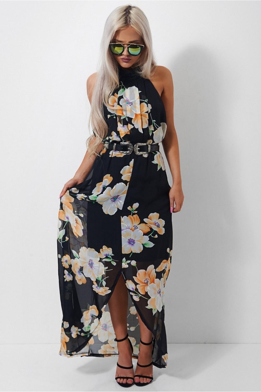Mia Floral Split Maxi Dress The Fashion Bible Ma8AEh7m