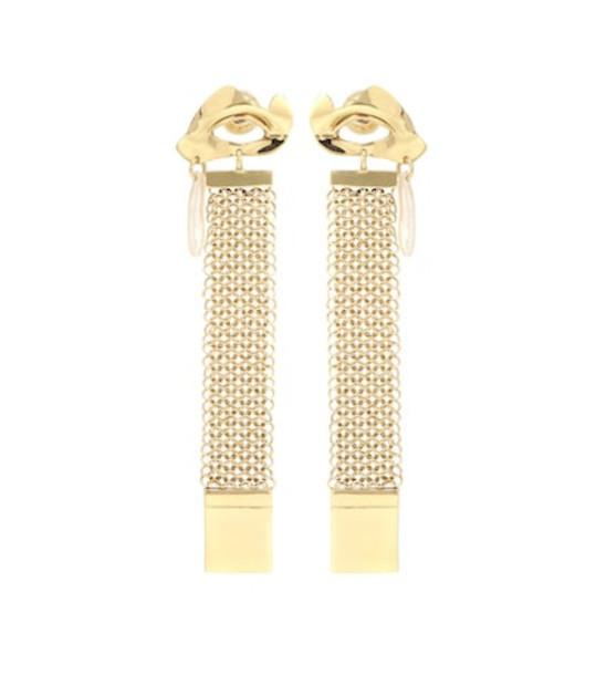 Ellery Succession Broken Eye earrings in gold