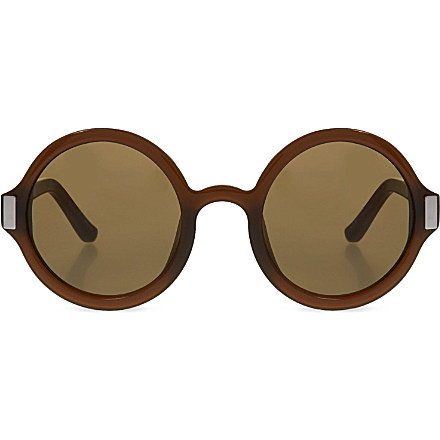 THE ROW - Rounded frame sunglasses | Selfridges.com