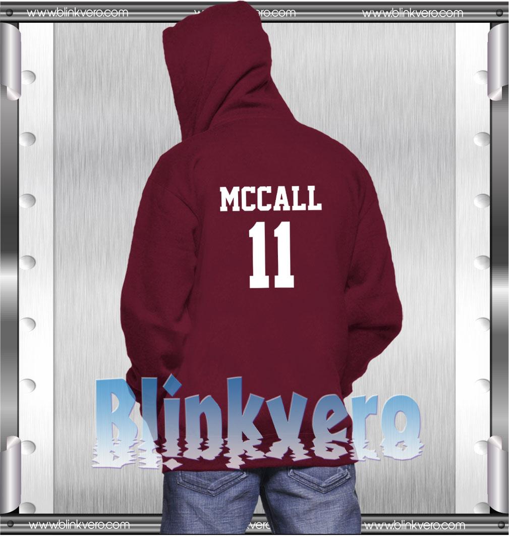 McCall 11 Style Shirts Hoodie Unisex. McCall 11 Hoodie