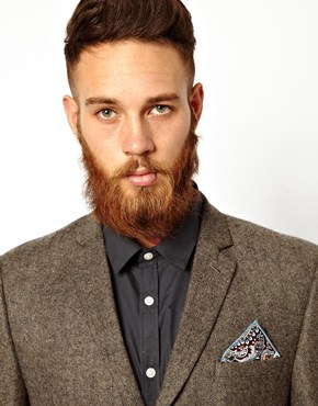 Reclaimed Vintage | Reclaimed Vintage Paisley Pocket Square at ASOS
