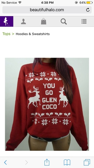 sweater christmas sweater red knitwear knitted sweater quote on it funny
