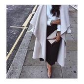 coat,grey,cute,white,jacket,mantel