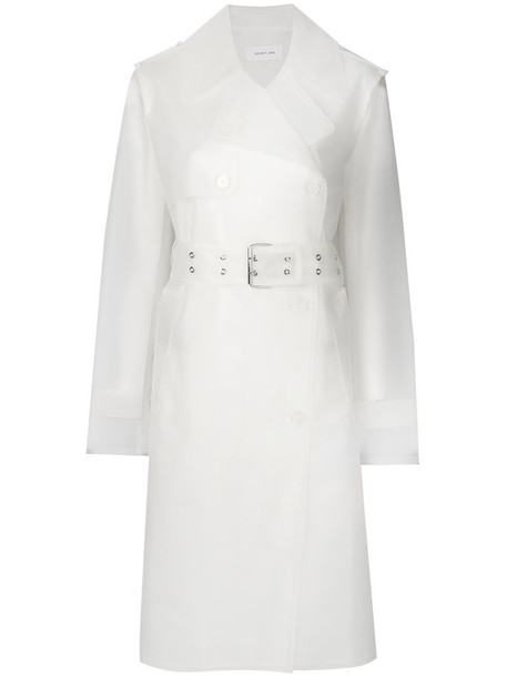 Helmut Lang coat trench coat women nude