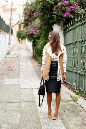 jacket sunglasses blogger belt bag seams for a desire