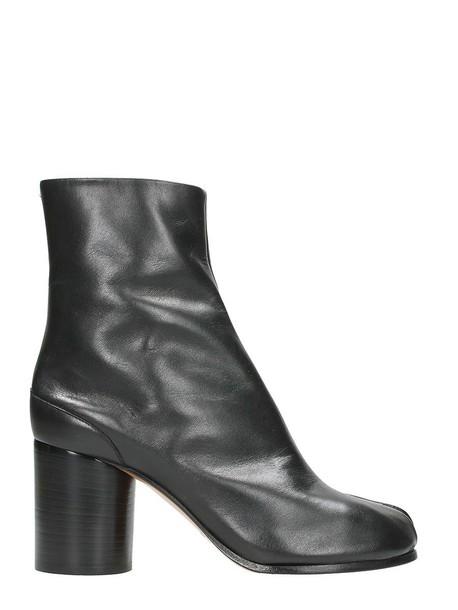 MAISON MARGIELA ankle boots black shoes