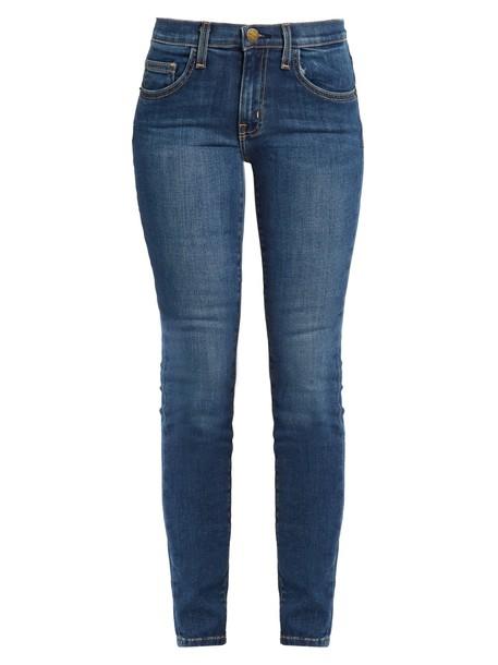 Current/Elliott jeans skinny jeans high denim