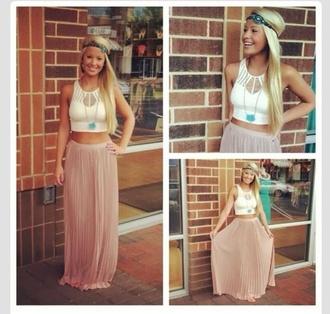 skirt maxi summer summer skirt coral maxi skirt coral skirt pretty pretty skirt maxi skirt shirt hat