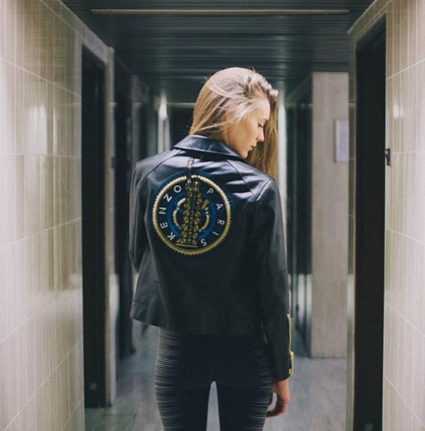 jacket kenzo black jacket paris kenzo kenzo jacket nice jacket jack