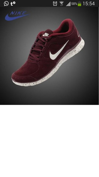 shoes wine red sports shoes