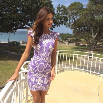 dress party dress purple dress