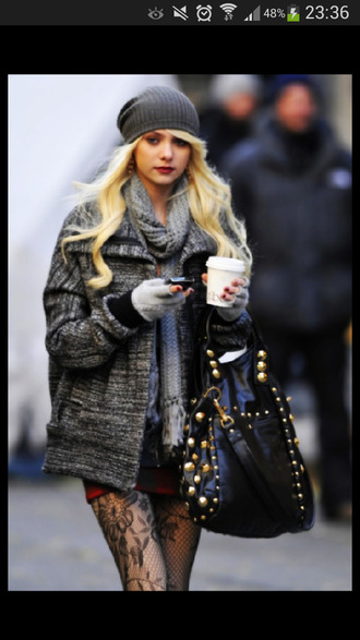 jenny humphrey gossip girl taylor momsen tights coat jenny humphrey coat