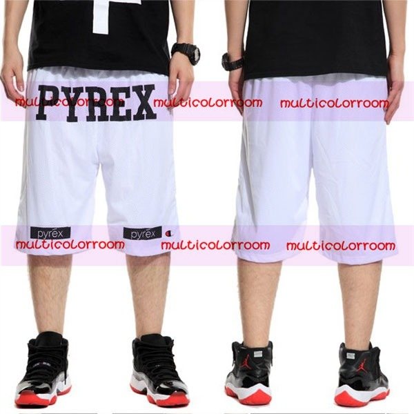 Unisex Pyrex Vision Basketball Gym Religion Champion Casual Shorts Size M 3XL | eBay