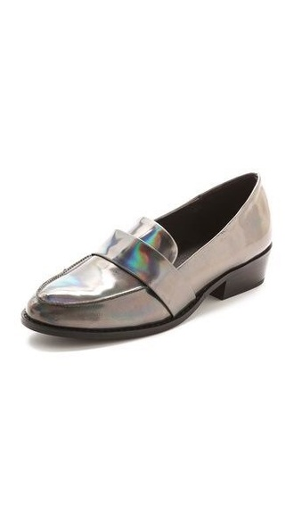 shoes grey silver derbies