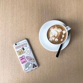 home accessory,yeah bunny,pink,pastel,stickers,cute,dog,iphone,coffee,iphone case,iphone cover,queen,egg,rainbow