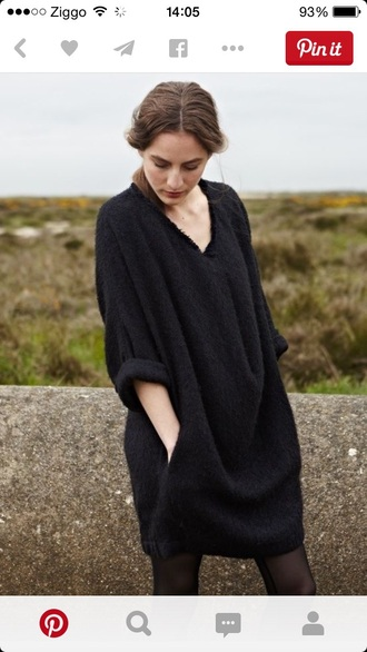 cardigan overzised cardigan black dress vest oversized sweater oversized minimalist