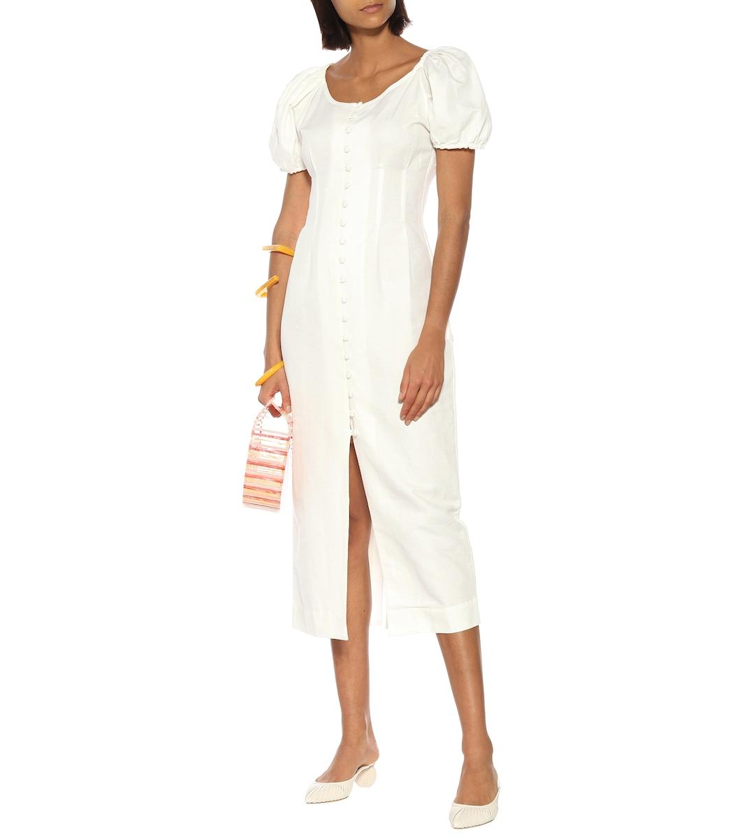 Charlotte cotton and linen dress