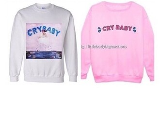 sweater crybaby