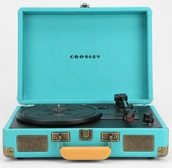 home accessory,turquoise,record player,music,blue record player,urban outfitters