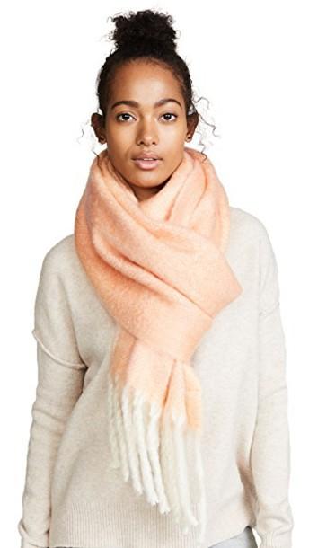 Free People scarf pink