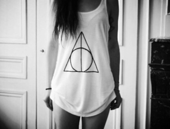 harry potter tank top harry potter tank top harry potter and the deathly hallows