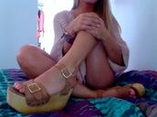 wedges,brown,wood,shoes,high heels,medium heels,low heels,straps,buckles,leather,brown shoes
